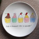 CupcakesPlate